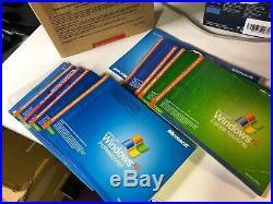 10 Original Genuine Microsoft Windows XP Pro Professional - CD / Product Key