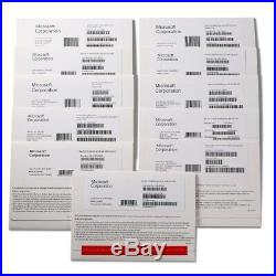 (10 pieces) Genuine Microsoft Windows 10 Pro 64/32 Bit DVD Disk, Key & COA OEM