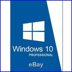 10x WINDOWS 10 PRO PROFESSIONAL 32/64 BIT OEM LICENSE ORIGINAL COA STICKER