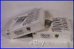 1 X Microsoft Windows For Workgroups 3.11 Retail Sealed New Old Stock