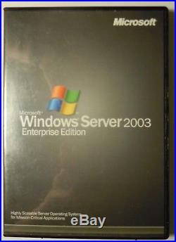 £200 25 CALs MS Server 2003 Enterprise Edition (32bit/x86) or Standard Ed