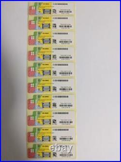 50x Windows 10 Professional 64bit WIN 10 PRO COA OEM DVD pack kit Stickers