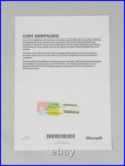 5 Device / Geräte CAL für Microsoft Windows Server 2019 Standard