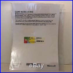 5 Geräte Cal Microsoft Windows Server 2016 Mit Rg. / Mwst. Ms Clt Device