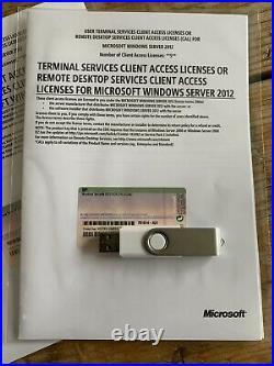 5 USER Cals RDS / Terminaldienste für Windows Server 2012 / 2012 R2
