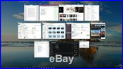 5 User Windows 10 Pro 32 / 64 Bit DVD, Clean Install Disc, With Genuine License