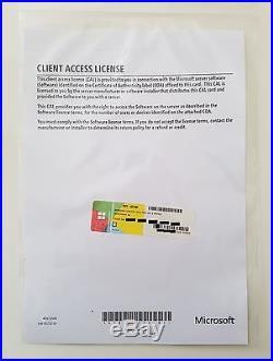5er CAL DEVICE (Geräte) für Windows 2012 Terminal Server / RDS Remote Desktop R2
