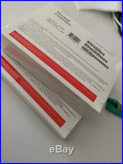 5x Microsoft Windows 10 PRO Professional Retail Package 64 bit DVD + Product Key