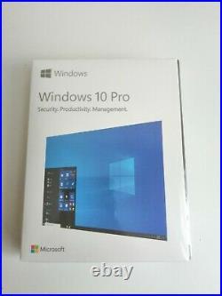 5x Microsoft Windows 10 Pro 64-Bit USB install Product Key Int'l SEALED