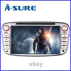 7 Car Stereo Radio Stereo DVD GPS Sat Nav Ford Focus Mondeo C/S-Max Galaxy Kuga
