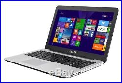 Asus X555LA-XX290H 15.6 Inch Laptop Windows 8.1 Operating System 4GB RAM 1TB HDD