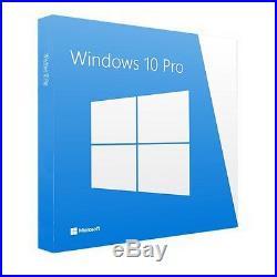 BRAND NEW SEALED Microsoft Windows 10 Pro 64-Bit SEALED DVD OEM P/N FQC-08929