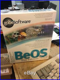BeOS Pro Edition 5.0 By gobesoftware Vintage OS software