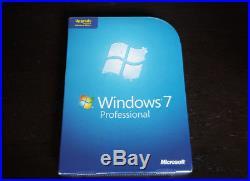 Brand New Microsoft Windows 7 Professional Upgrade 32 & 64 Bit Operating System