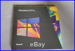 Brand New Microsoft Windows 8 Pro Sealed