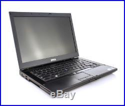 DELL LATITUDE E6410 CORE i5 2.4GHz WINDOWS 10 PRO WIFI DVD+RW HD PC 4GB 250GB