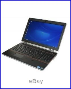 DELL LATITUDE E6520 TOUCH CORE i5 2.5GHz WIN10 PRO WIFI HDMI DVD+RW HD PC WEBCAM