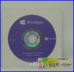 DVD + LICENCE WINDOWS 10 PRO PROFESSIONEL 64BIT Français