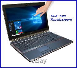Dell Latitude E6520 15.6 Touchscreen LCD Laptop Intel Core i5 2.50GHz Webcam PC