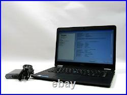 Dell Latitude E7470 14 HD+ FHD i5-6300U 2.4GHz 4-16GB 0-512GB M. 2 SSD Windows 10