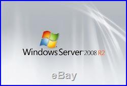 Dell Microsoft Windows Server 2008 R2 Standard 64-bit 1-4CPU