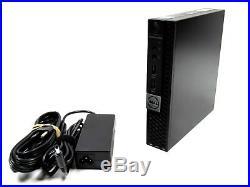 Dell OptiPlex 5050 Micro i5-7600T 2.8GHz 4-16GB RAM DDR4 256GB SSD Windows 10