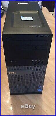 Dell Optiplex 7010 i7-3770 4GB 250HDD Windows 10 Operating System