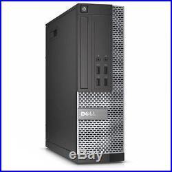 Dell Optiplex SFF i7 3rd Gen CPU 8GB RAM 2TB HDD Windows 10 Desktop Office PC