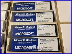 EXTREMELY RARE! Microsoft Windows 1.0 OS & SDK Vintage Software 5.25 Floppy Disk