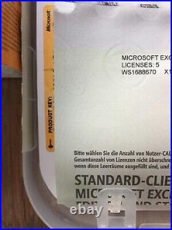 Exchange Server 2010 Standard inkl. 5 Cal, Deutsch mit MwSt Rechnung