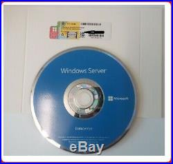 Factory Sealed Microsoft Windows Server 2019 DATACENTER 64BIT 2xCPU 16CORES 2VMs