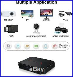 GBox Pro Mini PC, Fanless Desktop IntelAtom X7-E3950 Windows 10 Operating System