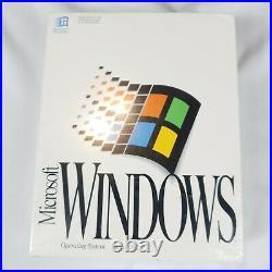 Genuine Microsoft Windows OS Version 3.1 on Floppy Brand NEW in Shrink Wrap