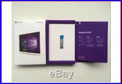 Genuine Orignal Windows 10 Pro Professional 32/64bit Licence Key &usb Sealed Box