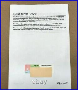 HPE Microsoft Windows Server 2019 License 5 RDS CAL P11073-DN1