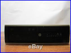 HP Compaq 6200 Pro SFF Quad Core i7-2600 3.4GHz 8GB RAM 250GB HDD Windows 10