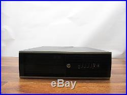 HP Compaq Elite 8300 SFF Quad Core i5-3470 3.2GHz 8GB RAM 500GB HDD Windows 10
