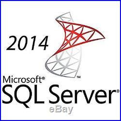 HP Microsoft 841186-B21 MS SQL Server 2014 Standard Edition 5 User CALs Licence
