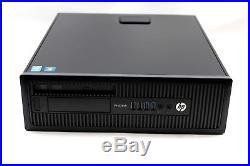 HP ProDesk 600 G1 SFF Quad Core i5-4590 3.3GHz 4-8GB RAM 500GB HDD Windows 10
