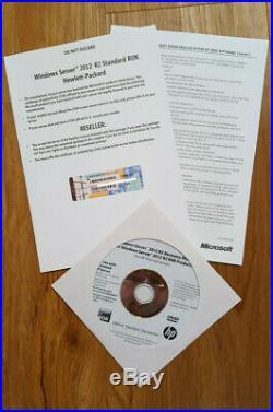 HP Windows Server 2012 R2 Standard ROK 64 bit Lizenz deutsch nur für HP Server