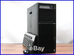 HP Z640 Workstation Hex Core Xeon E5-2620 v3 2.4GHz 16GB 256GB SSD Windows 10