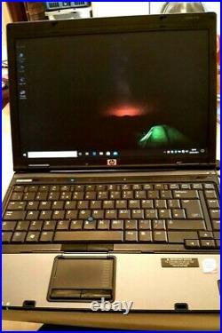 H. P. Compact 6910P, Intel core duo PCU, windows 10,64 bit operating system, 14