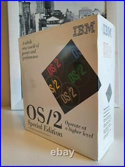 IBM OS/2 Special Edition for Windows 3.1 NEW and Factory Sealed! English, RARE