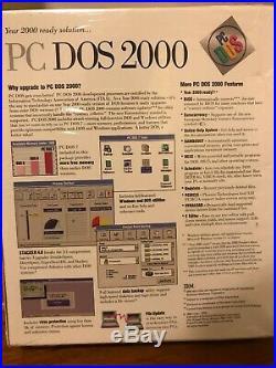 IBM PC DOS 2000 Sealed Box FLOPPY DISCS