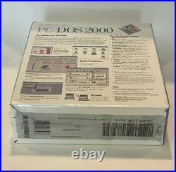 IBM PC DOS 2000 Vintage Disk Operating System Unopened Sealed Box