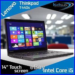 Lenovo Thinkpad T440S 14 Touch Laptop Core i5 8GB RAM 1TB HDD SSD Windows 10
