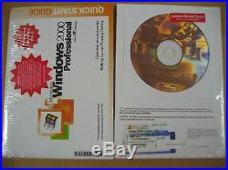 MICROSOFT WINDOWS 2000 PROFESSIONAL withSP4 FULL OPERATING SYSTEM MS WIN PRO =NEW=