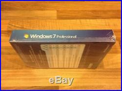 MICROSOFT WINDOWS 7 PROFESSIONAL Brand New Sealed 32 & 64-BIT DVD