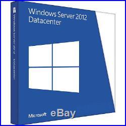 MICROSOFT WINDOWS SERVER 2012 R2 DATACENTER 64BIT DVDCOA + 50USER+50 DEVICE CALs