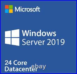 MICROSOFT WINDOWS SERVER 2019 Datacenter 24 CORE P71-09023
